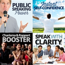 Save money! This bundle contains the Charisma and Rapport Booster session!