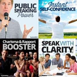 Amazing Public Speaking Hypnosis Bundle Image