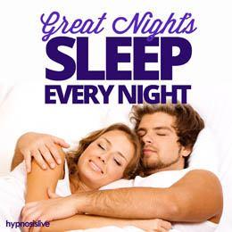 Great Night's Sleep Every Night Cover