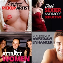 Save money! This bundle contains the Perfect Pickup Artist session!
