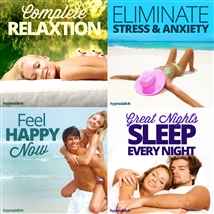 Save money! This bundle contains the Complete Relaxation session!