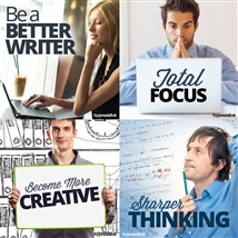 Save money! This bundle contains the Sharper Thinking session!